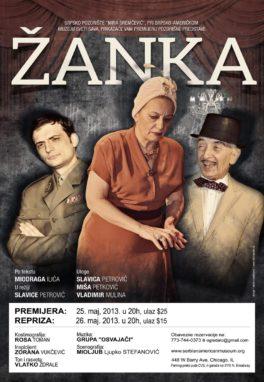 Predstava Žanka
